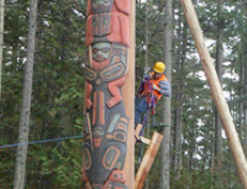 Totem Pole Installation